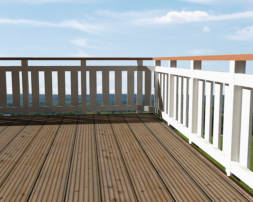 Free Timber Balustrade Design Drawings and Specs   High Living Design
