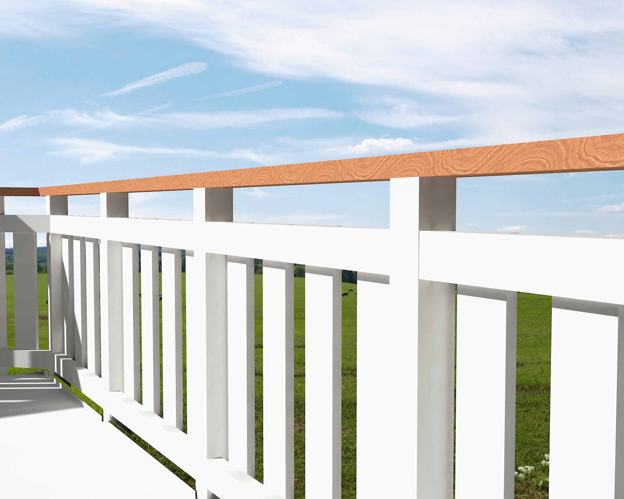 Free Timber Balustrade Design Drawings and Specs - High Living Design